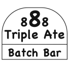Triple Ate Batch Bar